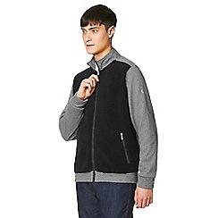 Craghoppers - black leathen two tone fleece jacket