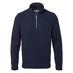 Craghoppers - Blue 'Taransay' half zip fleece