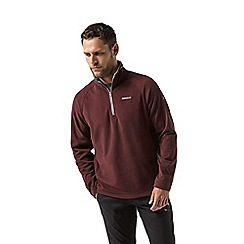 Craghoppers - Red corey half zip fleece