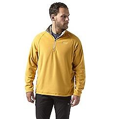Craghoppers - Yellow corey half zip fleece