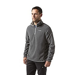 Craghoppers - Grey corey half zip fleece