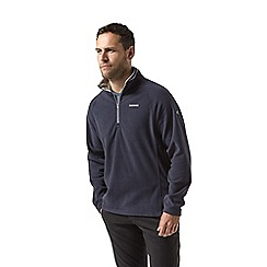 Craghoppers - Blue corey half zip fleece