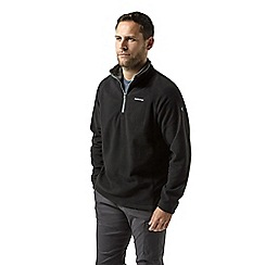 Craghoppers - Black corey half zip fleece