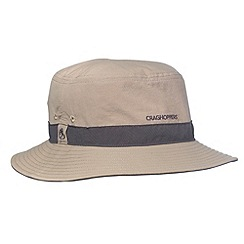 Craghoppers - Light Grey lightweight insect repelling sun protecting hat
