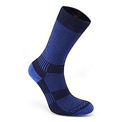 Craghoppers - Blue heat regulating travel socks