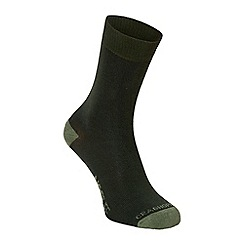 Craghoppers - Green 'Nosilife' travel single pair socks