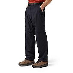 Craghoppers - Dark navy kiwi convertible trousers