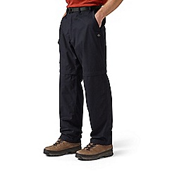 Craghoppers - Dark navy kiwi convertible trousers