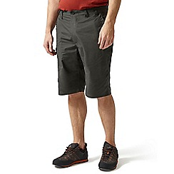 Craghoppers - Black pepper kiwi long shorts