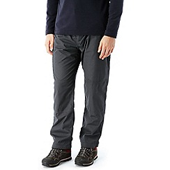 Craghoppers - Black pepper kiwi winter-lined trousers - regular leg