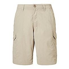 Craghoppers - Beige nosilife cargo shorts