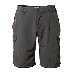 Craghoppers - Black pepper nosilife cargo shorts