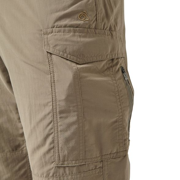 long trousers Craghoppers nosilife Beige cargo length 6xYYBtq1