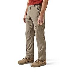 Craghoppers - Beige nosilife cargo regular length trousers