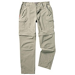 Craghoppers - Pebble nosilife convertible trousers - long leg