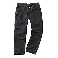 Craghoppers - Black pepper kiwi trek trousers - regular leg