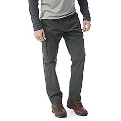 Craghoppers - Dark khaki C65 discovery trousers