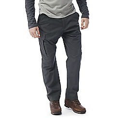 Craghoppers - Black pepper C65 discovery trousers
