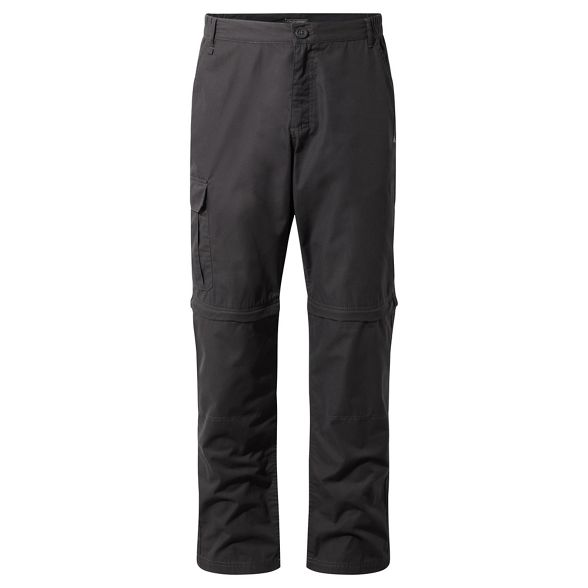 length convertible Craghoppers Black pepper long trousers C65 na7zqxT0