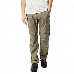 Craghoppers - Pebble Kiwi pro convertible trousers - long length