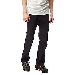 Craghoppers - Black Kiwi pro convertible trousers - regular length