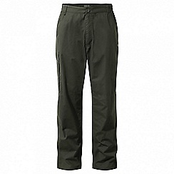 Craghoppers - Green 'C65' winter trousers - regular length