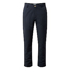 Craghoppers - Blue nosilife albany regular length trousers
