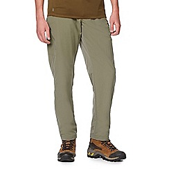 Craghoppers - Green nosilife long length trousers