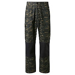 Craghoppers - Green discovery adventures camo cargo trousers