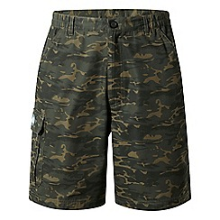 Craghoppers - Green discovery adventures camo cargo shorts