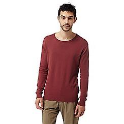 Craghoppers - Carmine red nosilife berkley crew neck sweater