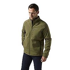 Craghoppers - Green 'Roag' waterproof softshell jacket