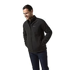 Craghoppers - Black 'Roag' waterproof softshell jacket