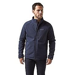Craghoppers - Blue 'Roag' waterproof softshell jacket