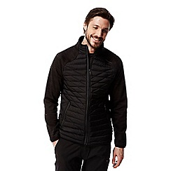 Craghoppers - Black Midas hybrid water-resistant jacket