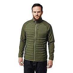 Craghoppers - Green 'Voyager' hybrid softshell jacket
