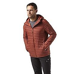 Craghoppers - Orange venta lite hooded jacket