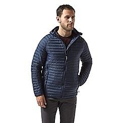 Craghoppers - Blue venta lite hooded jacket