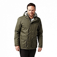 Craghoppers - Green 'Kiwi' classic thermic waterproof jacket