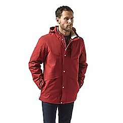 Craghoppers - Red 'Axel' insulating waterproof jacket