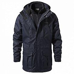Craghoppers - Blue 'Kiwi' long 3-in-1 waterproof jacket