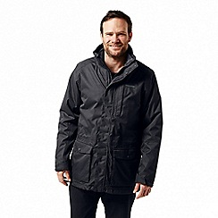 Craghoppers - Grey 'Kiwi' long 3-in-1 waterproof jacket