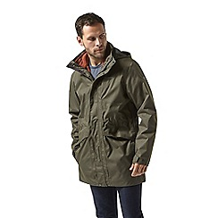 Craghoppers - Green Herston 3 in 1 waterproof jacket