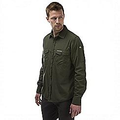 Craghoppers - Cedar kiwi long sleeved button shirt
