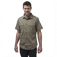 Craghoppers - Pebble kiwi short sleeved button shirt