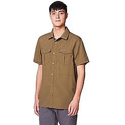 Craghoppers - Brown nosilife adventure short sleeved shirt