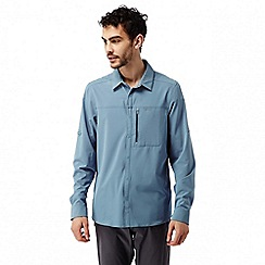 Craghoppers - Smoke blue Nosilife pro long sleeved shirt