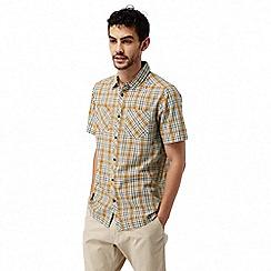 Craghoppers - Turmeric combo Northbrook short sleeved check shirt