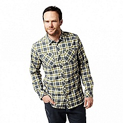 Craghoppers - Blue 'Andreas' long sleeved check shirt