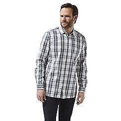 Craghoppers - Blue Blayney long sleeved check shirt